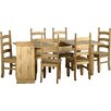 Andover Mills Corona Extendable Dining Set with 6 Chairs