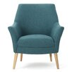 Reese Tufted Fabric Retro Armchair Amp Reviews Allmodern