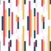"""Tempaper Bars 33' x 20.5"""" Geometric Wallpaper"""