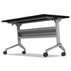 Mayline Group Flip-N-Go Training Table with Modesty Panel
