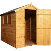Mercia Garden Products 4 x 6 Wooden Shiplap Apex Storage Shed