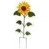 Rustic Arrow Tuscany Sunflower Garden stake