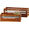 Home Etc Ladis 2-Piece Balcony Planter Set