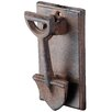 Castleton Home Best for Boots Spade Door Knocker Wall Decor