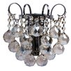 Home Loft Concept Crystal 1 Light Crystal Wall Sconce
