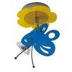 Home Loft Concept Schmetterling 1 Light Semi Flush Mount