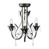 MiniSun Odelia 3 Light Candle Chandelier