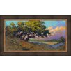 Ashton Wall Décor LLC In Bloom & Landscape 'Wildflower Evening' Framed Painting Print
