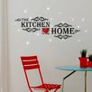 Home Loft Concept Kitchen Quotes and Swarovski Crystals Wall Sticker