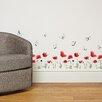 Home Loft Concept Poppy Flowers Skirting Wall Sticker