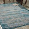 Bungalow Rose Saliba Blue Area Rug