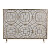 Bungalow Rose Rockwell Single Panel Fireplace Screen