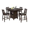 """World Menagerie Dore 29"""" Bar Stool with Cushion (Set of 2)"""