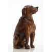 Hazelwood Home Banbury Sitting Dog Statue