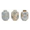 Lark Manor Bud Terra Cotta 3 Piece Table Vase Set