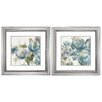 Alcott Hill Secret Garden 2 Piece Framed Painting Print Set