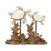 Bay Isle Home Resin Double Sea Turtle Figurine
