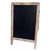 Laurel Foundry Modern Farmhouse Large Double Sided Wood Frame Chalkboard