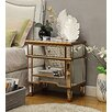 Wildon Home Imperial 2 Drawer Side Table