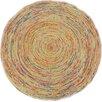 Bakero Handgewebter Teppich Roberta in Beige/Orange