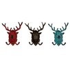 ABC Home Collection Metal Wall Hook (Set of 3)