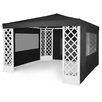 Home Loft Concept 3.5 x 3.5m Plastic Gazebo