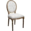 Castleton Home Louis Upholstered Dining Chair (Set of 2)