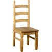 Home & Haus Solid Pine Dining Chair (Set of 2)