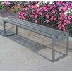 Frog Furnishings Plaza Backless Steel Picnic Bench