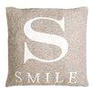 Castleton Home Smile Chenille Jacquard Scatter Cushion