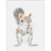 Oopsy Daisy Squirrel Portrait by Brett Blumenthal Canvas Art