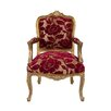 Wildon Home French Regency Floral Armchair