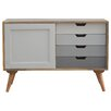 Hazelwood Home Solid Wood Cabinet