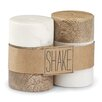 Mud Pie™ Bistro Marble and Wood 2-Piece Salt and Pepper Shaker Set (Set of 2)