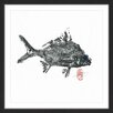 Marmont Hill 'Small Silver Bream' by Andrew Clay Framed Art Print