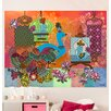 Oopsy Daisy Boho Peacock Birdies by Winborg Sisters Wall Decal