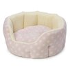 House of Paws Star Soft Plush Oval Bolster Cushion