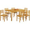 Andover Mills Thorndike Dining Table and 6 Chairs