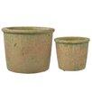 Laurel Foundry Hettie Round Round 2 Piece Plant Pot Set (Set of 2)