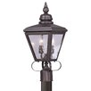 Three Posts Guillory Traditional Outdoor Post Lantern