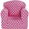 Just 4 Kidz Hearts Loose Cover Chair