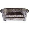 DandGSofas 2 Seater Chesterfield Children's Velvet Sofa