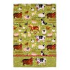 Ulster Weavers Jennies Farm Tea Towel