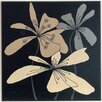Wildon Home Flowers 'Symbolic Flowers' Painting Print on Paper