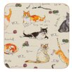 Ulster Weavers Cats Coaster (Set of 4)