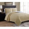American Home Fashion Marseille Reversible Quilt Set