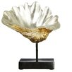 Castleton Home Complements Seashell on Base Polyresin Sculpture