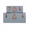 Castleton Home 2 Piece Trunk Set