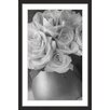 Marmont Hill 'Country Bouquet in Grey' by Judy Stalus Framed Photographic Print