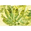 Marmont Hill 'Fern Fantasy I' by Judy Stalus Painting Print on Wrapped Canvas